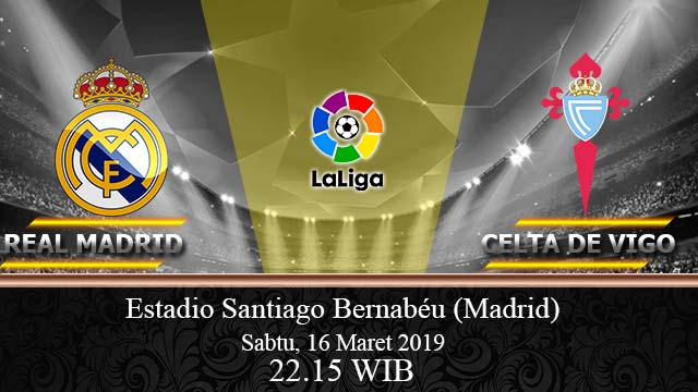 Real-Madrid Vs-Celta-Vigo 16-Maret-2019