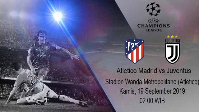 Prediksi Bola Atletico Madrid vs Juventus 19 September 2019