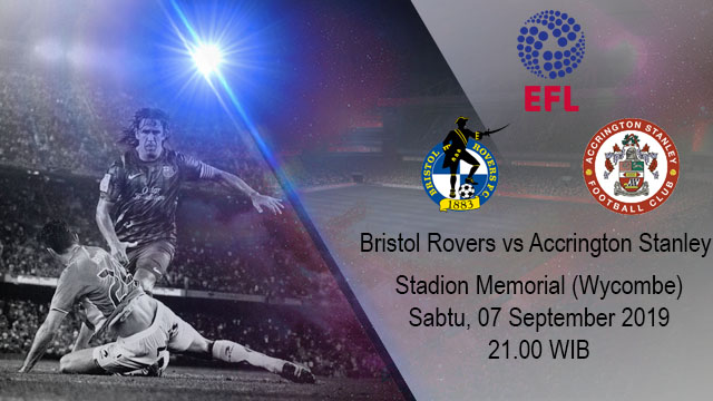 Prediksi Bola Bristol Rovers vs Accrington Stanley 07 September 2019