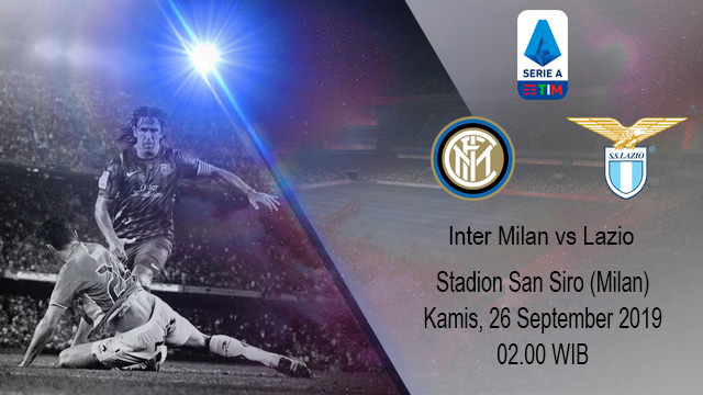 Prediksi Bola Inter Milan vs Lazio 26 September 2019