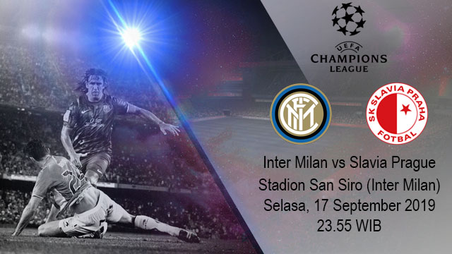 Prediksi Bola Inter Milan vs Slavia Prague 17 September 2019