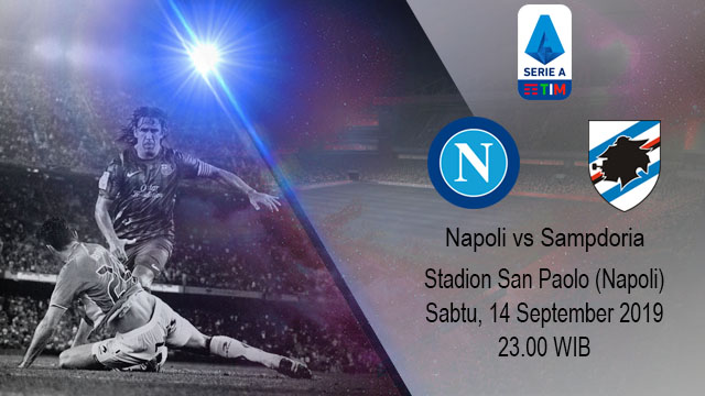 Prediksi Bola Napoli vs Sampdoria 14 September 2019