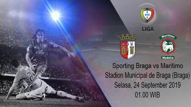 Prediksi Bola Sporting Braga vs Maritimo 24 September 2019