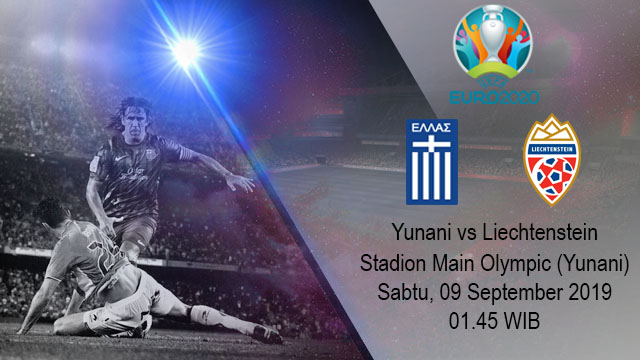 Prediksi Bola Yunani Vs Liechtenstein 09 September 2019