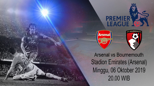 Prediksi Bola Arsenal vs Bournemouth 06 Oktober 2019