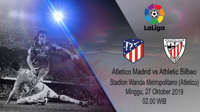 Prediksi Bola Atletico Madrid vs Athletic Bilbao 27 Oktober 2019