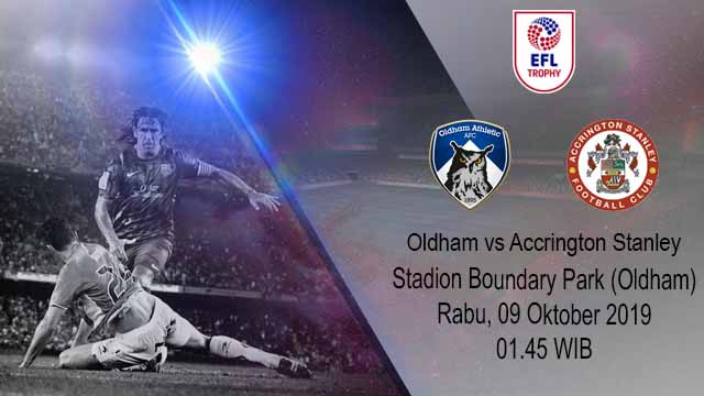 Prediksi Bola Oldham Athletic vs Accrington Stanley 09 Oktober 2019