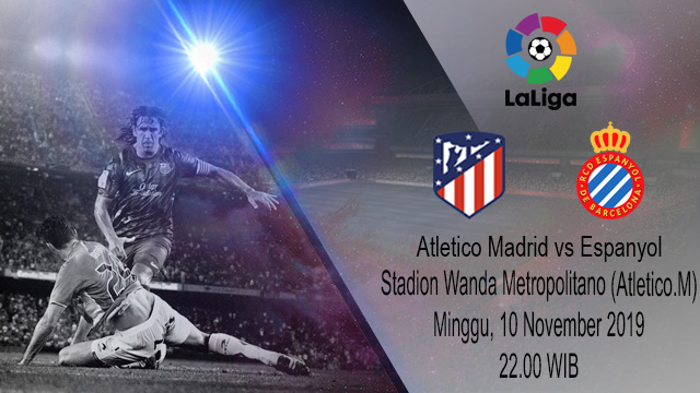 Prediksi Atletico Madrid vs Espanyol 10 November 2019