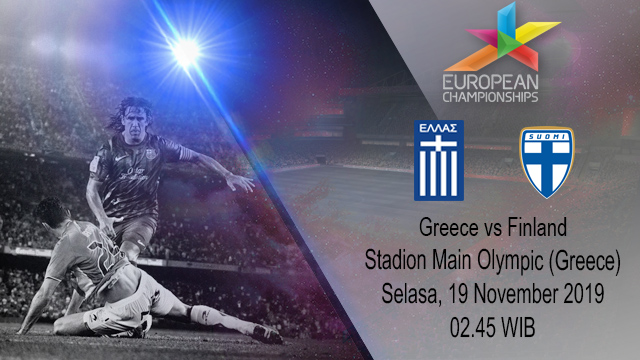 Prediksi Greece vs Finland 19 November 2019