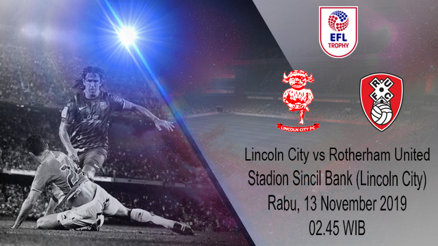 Prediksi Lincoln City vs Rotherham United 13 November 2019