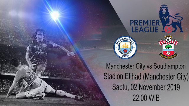Prediksi Manchester City vs Southampton 02 November 2019