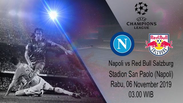 Prediksi Napoli Vs Red Bull Salzburg 06 November 2019