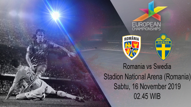 Prediksi Romania vs Swedia 16 November 2019