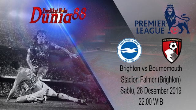 Prediksi Brighton And Hove Albion vs Bournemouth 28 Desember 2019
