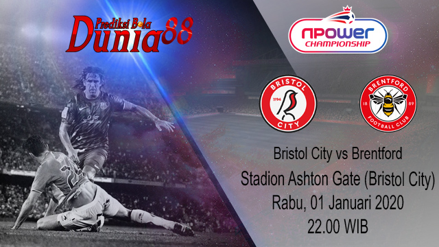 Prediksi Bristol City vs Brentford 01 Januari 2020