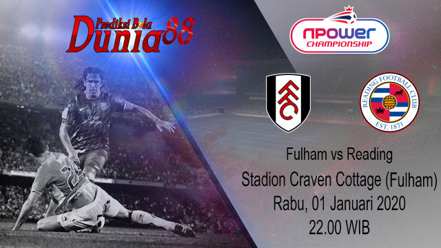 Prediksi Fulham vs Reading 01 Januari 2020