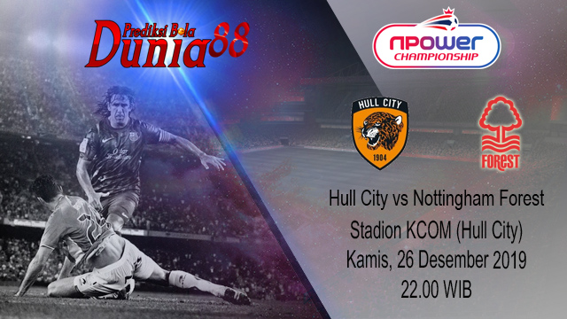 Prediksi Hull City vs Nottingham Forest 26 Desember 2019