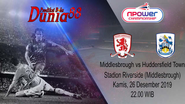 Prediksi Middlesbrough vs Huddersfield Town 26 Desember 2019