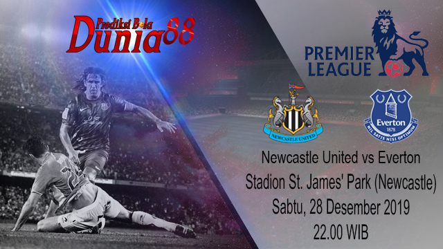 Prediksi Newcastle United vs Everton 28 Desember 2019