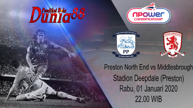 Prediksi Preston North End vs Middlesbrough 01 Januari 2020