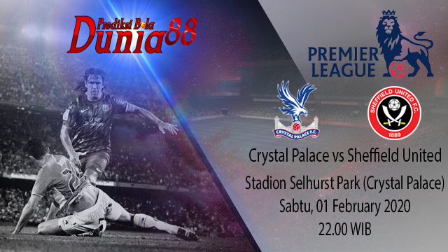 Prediksi Crystal Palace vs Sheffield United 01 February 2020