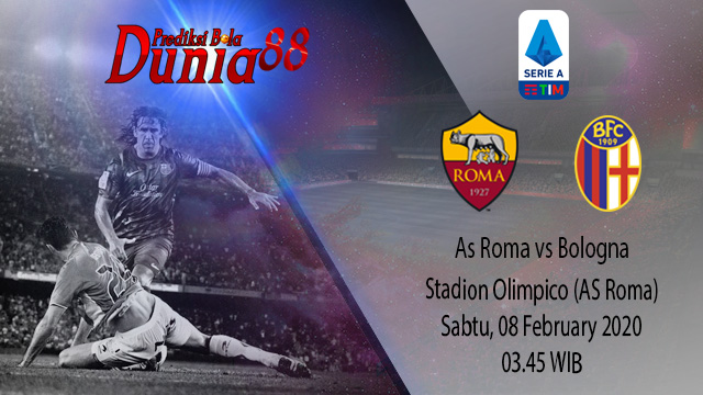 Prediksi As Roma vs Bologna 08 February 2020