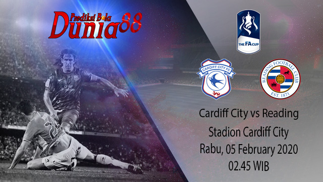 Prediksi Cardiff City vs Reading 05 February 2020