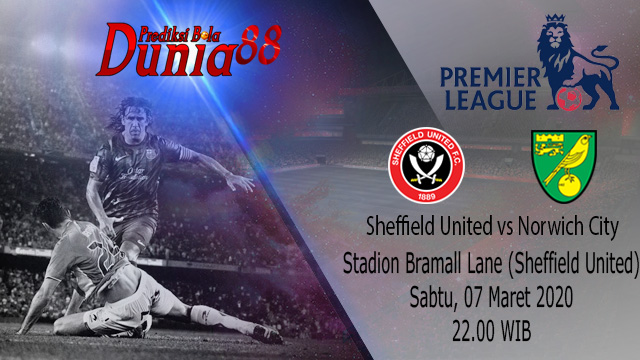 Prediksi Sheffield United vs Norwich City 07 Maret 2020